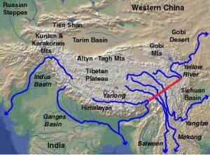 great asian rivers
